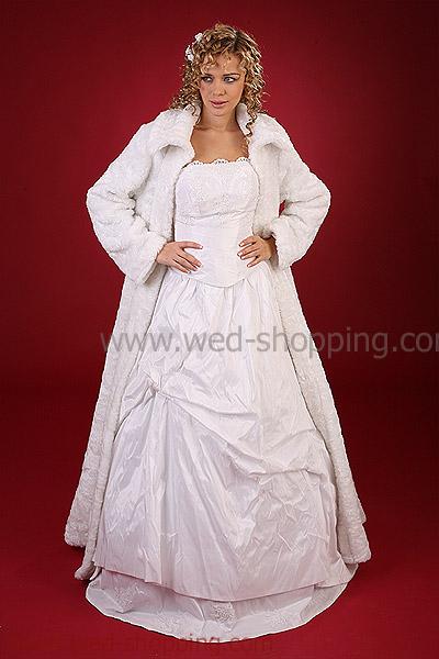 Manteaux de mari e bol ro veste tole ch le p lerine accessoires de mariage - Manteau mariage hiver ...